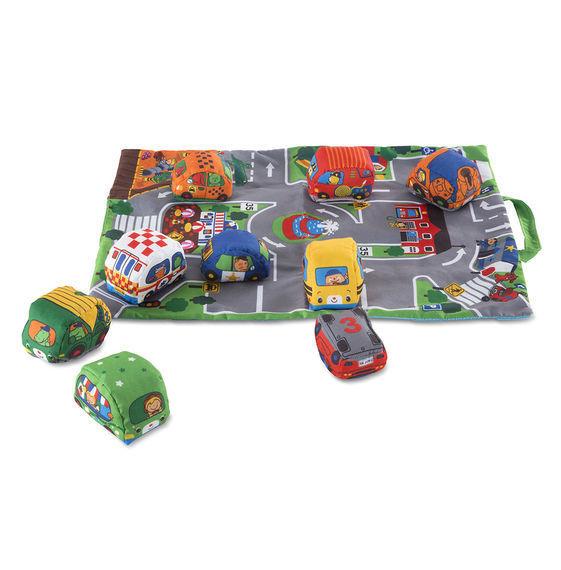 Take Along Town Play Mat And Vehicle Set