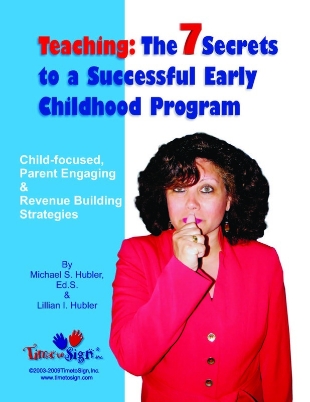 Secrets to a successful early childhood program time to sign