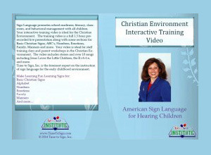 Christian environment interactive training video time to sign