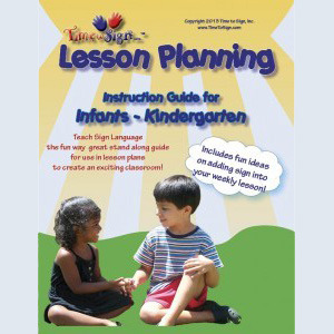 Fingerdancing signs for instruction curriclum for infants to