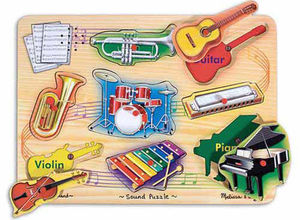 Music Instrument Sound Puzzle