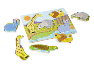 Zoo Animal Touch and Feel Puzzle