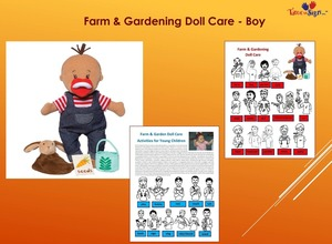Farm and Garden Doll Care Set