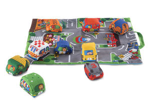 Take Along Town Play Mat and Vehicle Set