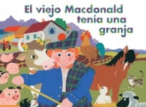 Old McDonald Had A Farm Spanish Edition Board Book