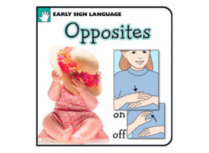 Young Signers Opposites Board Book