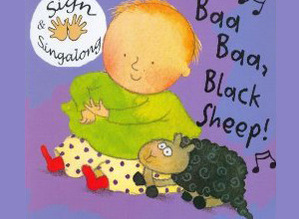 Hands On Song Baa Baa Black Sheep Board Book