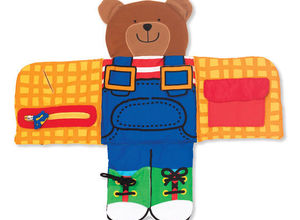 Soft Activity Book  Dress Up Bear