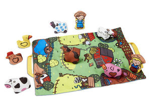 Take Along Farm Play Mat