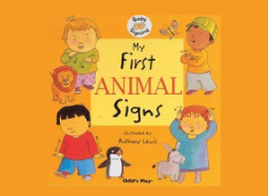 My First Animal Signs Board Book