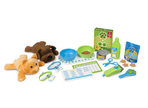 Feeding and Grooming Pet Care Set