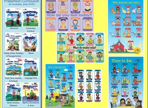 Ojibwe Young Children Sign Language  Early Childhood Curriculum and Poster Set