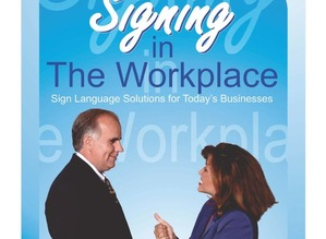 Signing in the Workplace Book and DVD