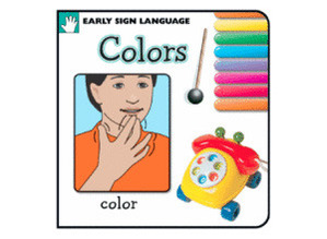 Young Signers Colors Board Book