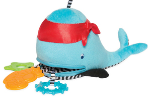 Zip and Play with Waldon Whale Pirate