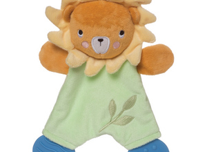 Safari Lion Blanket Teether