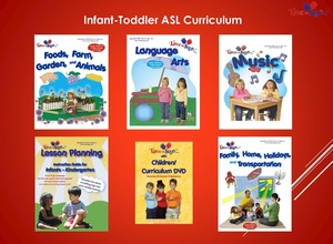 Sign Language Birth to 3 Year Curriculum