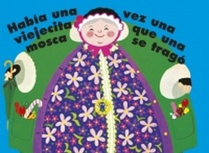 Old Lady Who Swallowed A Fly Spanish Edition Board Book