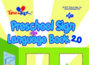 Preschool Sign Language Book with DVD