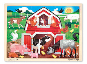 Barnyard Puzzle 24 pieces