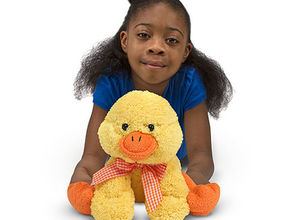Huggable Meadow Medley Ducky Stuffed Toy