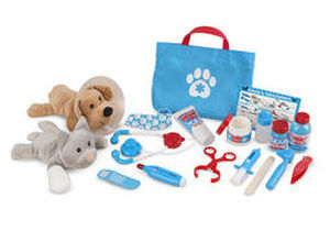 Examine and Treat Vet Play Set
