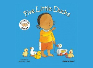 Hands On Songs Five Little Ducks Board Book