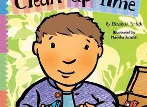 Clean up Time Board Book
