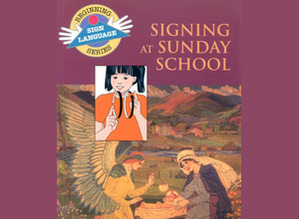 Signing at Sunday School Book