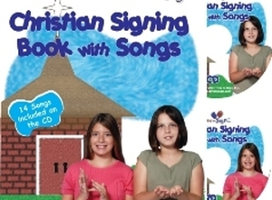 Christian Signing Book With Songs with DVD