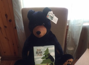 Special Sale Huggable Bear with Big Bear Hug Book and Signs