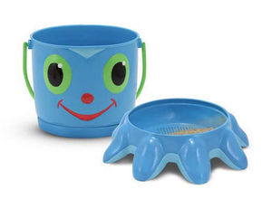 Flex Octopus Sand Pail and Sifter