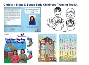 Christian Signs for the Early Childhood Environment Video and Toolkit