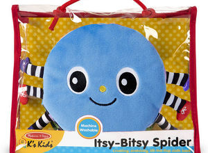 Itsy Bitsy Spider Soft Activity Book