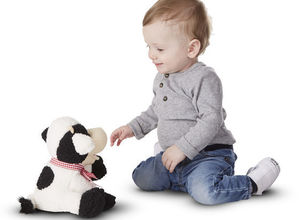 Huggable Meadow Medley Calf Stuffed Toy