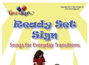 Ready Set Sign Music Book with CD and DVD