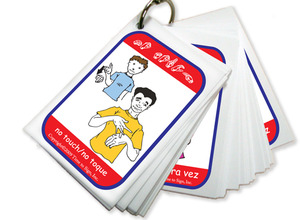 Classroom Management Flash Cards