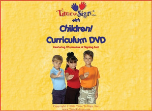 School Age Sign Language Theme Based Curriculum DVD