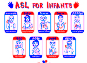 ASL for Infant Placemat