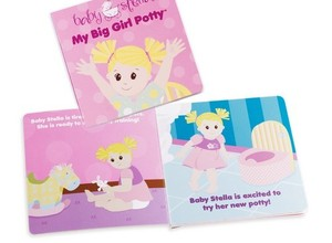 Baby Stella Potty Training Book