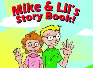 NEW BOOK SALE     Mike and Lil Story Coloring Book