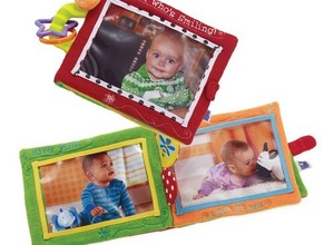 Looks who is smiling photo soft book