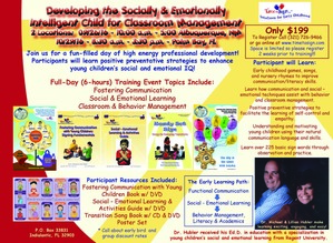 Developing the Socially and Emotionally Intelligent Child Training Event