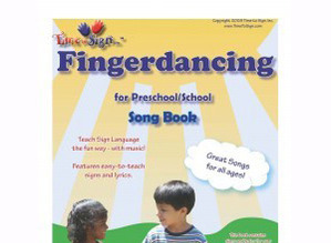 Fingerdancing Song Book with 90 Songs in Sign