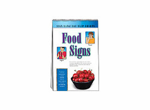 Food Signs Flip Chart