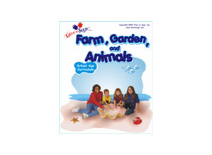 School Age Sign Language Theme Based Curriculum Farm Garden and Animals Module
