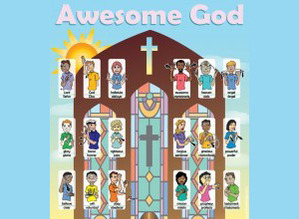 Awesome God Sign Language Poster