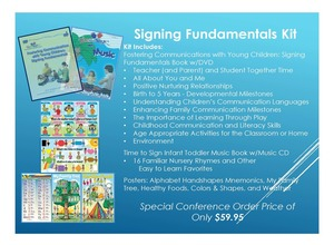 Fostering Communication with Young Children Signing Fundamentals Tool Kit
