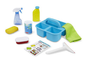 LETS PLAY HOUSE SPRAY SQUIRT AND SQUEEGEE PLAY SET