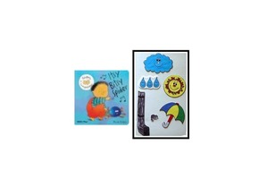 Itsy Bitsy Spider Sign Language Book and Felt Set